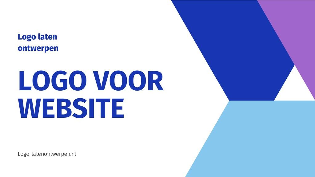 LOGO VOOR WEBSITE Logo-latenontwerpen.nl Logo l...