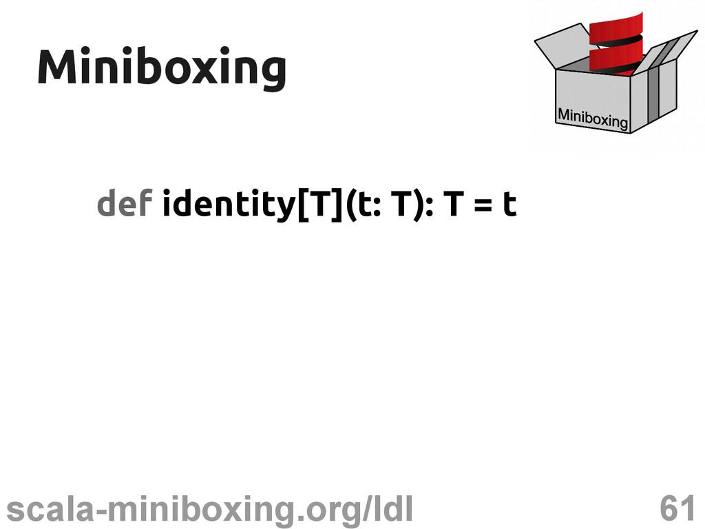 61 scala-miniboxing.org/ldl Miniboxing Miniboxi...