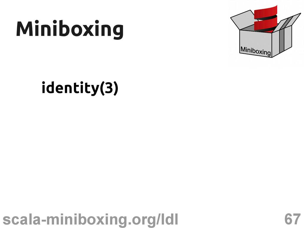 67 scala-miniboxing.org/ldl Miniboxing Miniboxi...