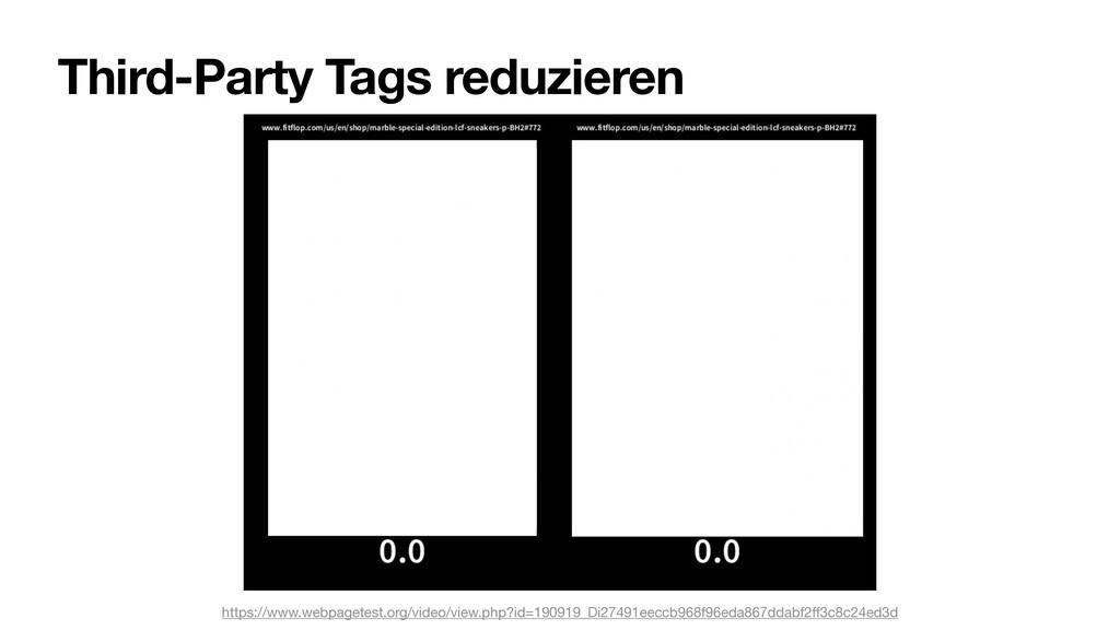 Third-Party Tags reduzieren https://www.webpage...