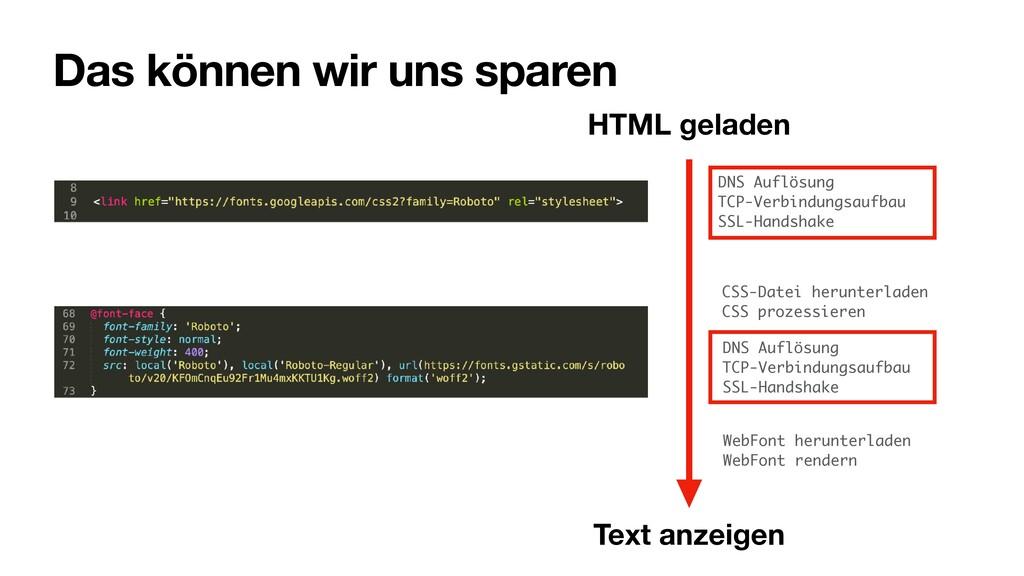 Das können wir uns sparen CSS-Datei herunterlad...