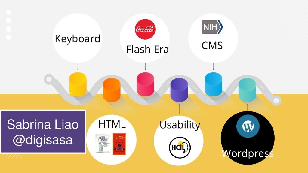 Keyboard HTML Flash Era Usability Wordpress Sab...