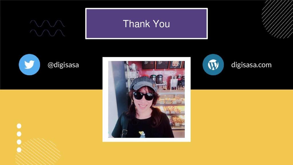 @digisasa digisasa.com Thank You