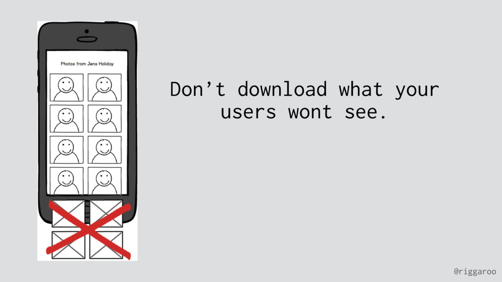 @riggaroo Don't download what your users wont s...