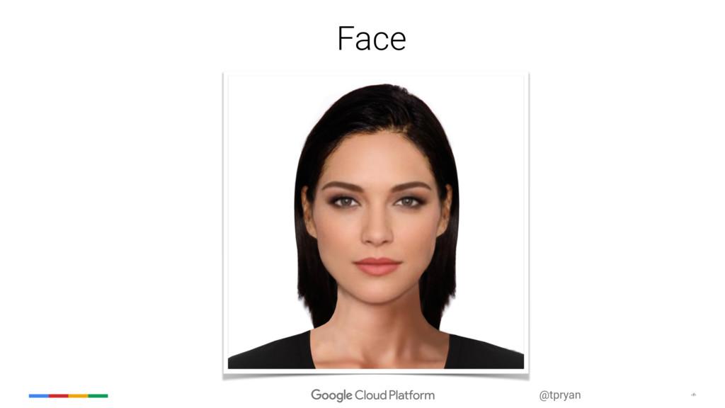‹#› @tpryan Face