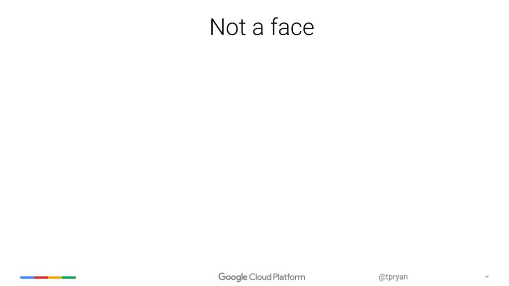 ‹#› @tpryan Not a face