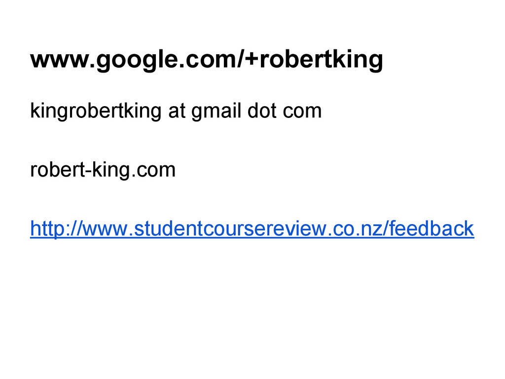 www.google.com/+robertking kingrobertking at gm...
