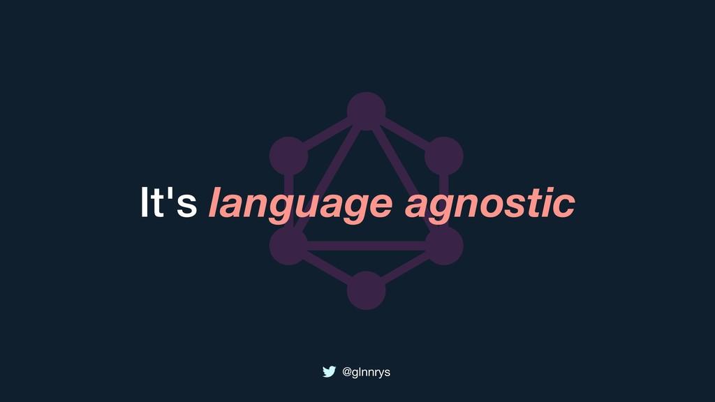@glnnrys It's language agnostic