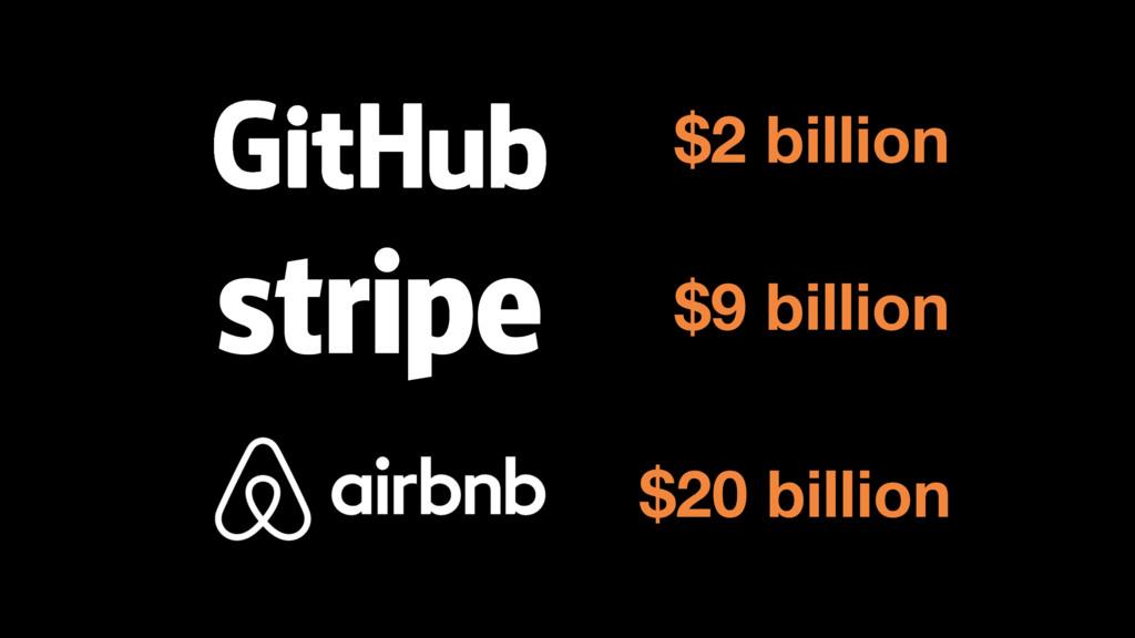 $2 billion $9 billion $20 billion