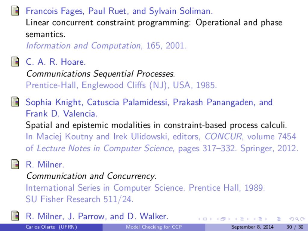 Francois Fages, Paul Ruet, and Sylvain Soliman....
