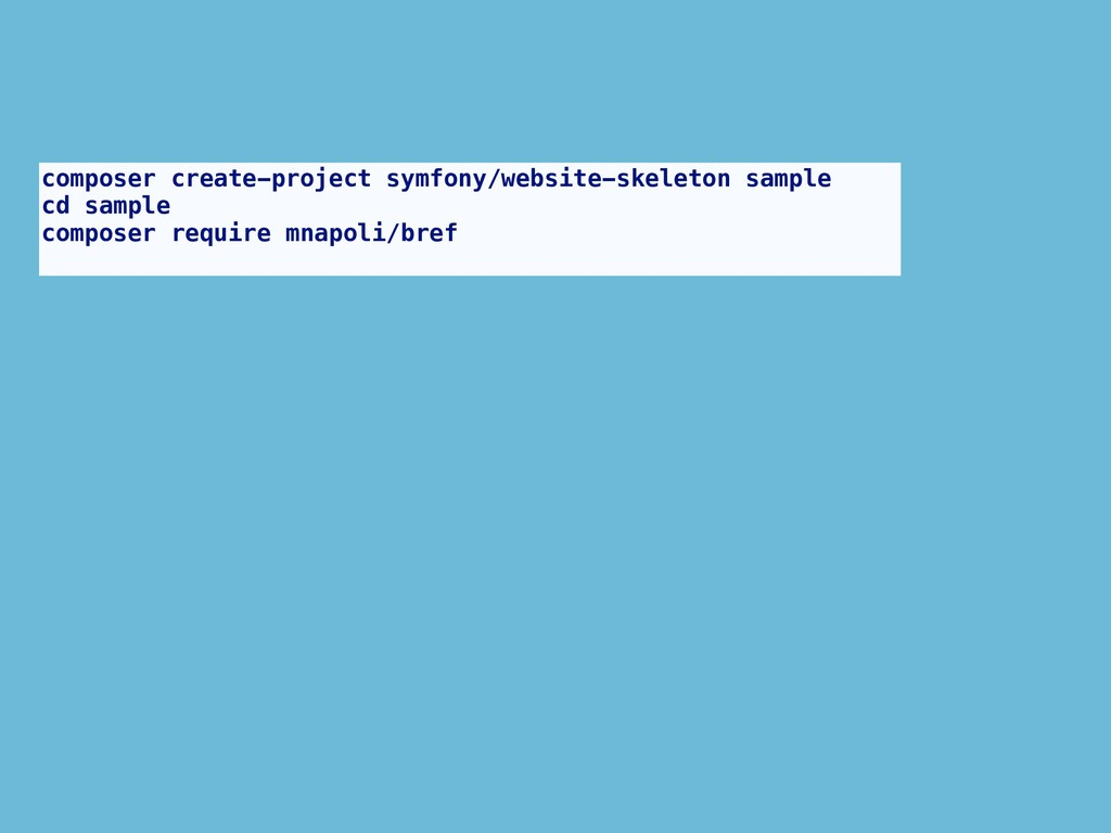 composer create-project symfony/website-skeleto...