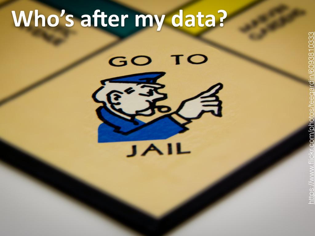Who's aDer my data? 11 https://www.flic...