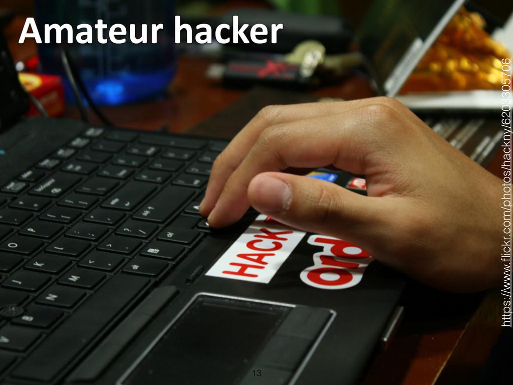 Amateur hacker 13 https://www.flickr.com/phot...