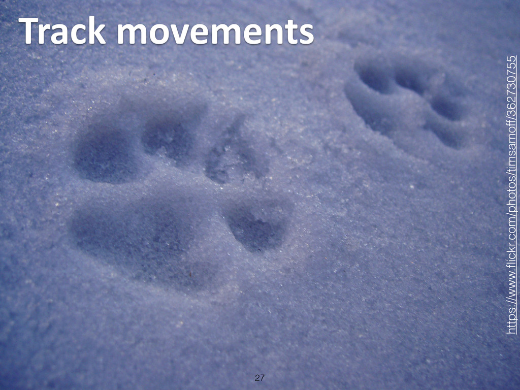 Track movements 27 https://www.flickr.com/pho...