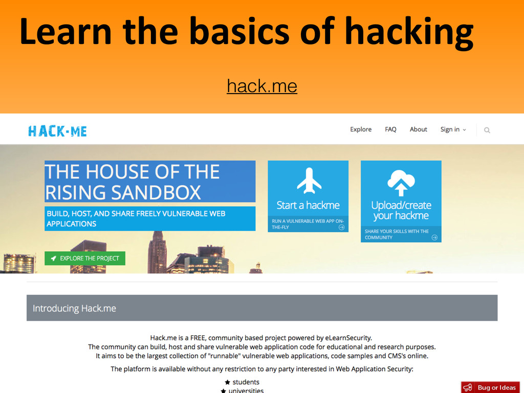 Learn the basics of hacking 45 hack...