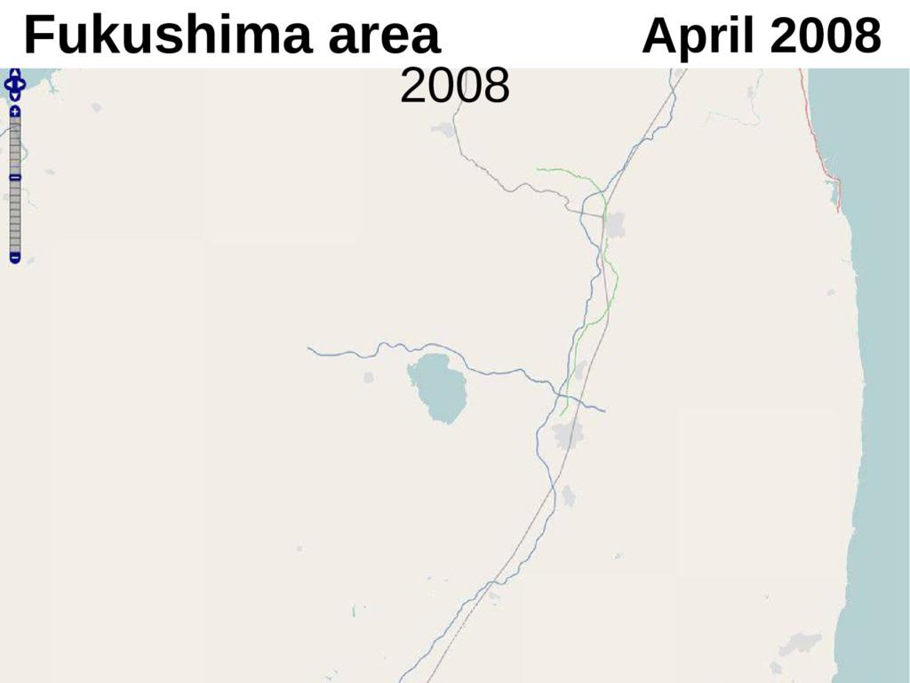 April 2008 Fukushima area 2008