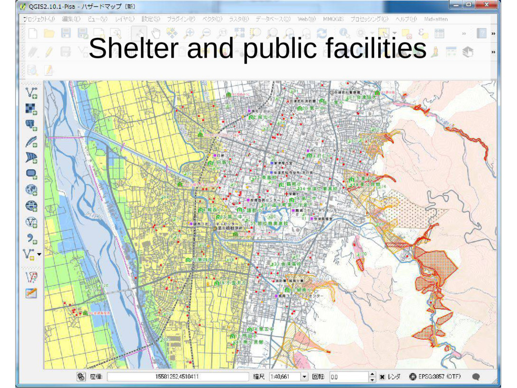 Shelter and public facilities