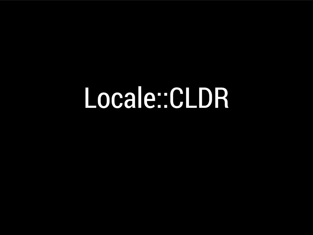 Locale::CLDR