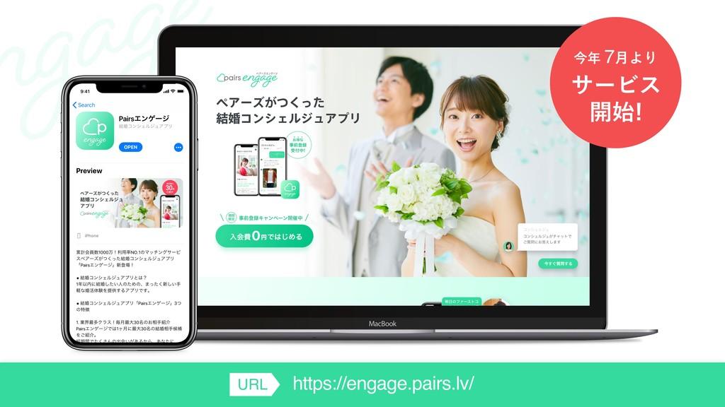 αʔϏε ։ ࠓ 7݄ΑΓ https://engage.pairs.lv/ URL