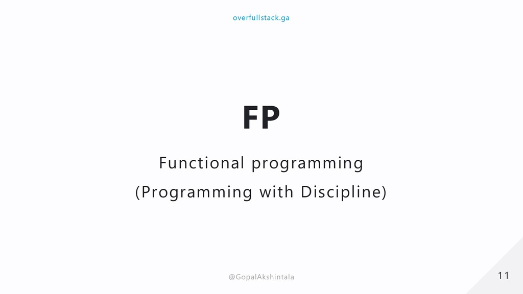 FP Functional programming (Programming with Dis...