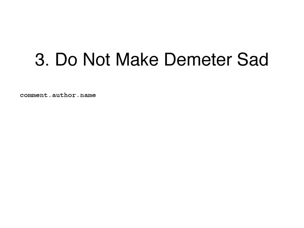 3. Do Not Make Demeter Sad comment.author.name