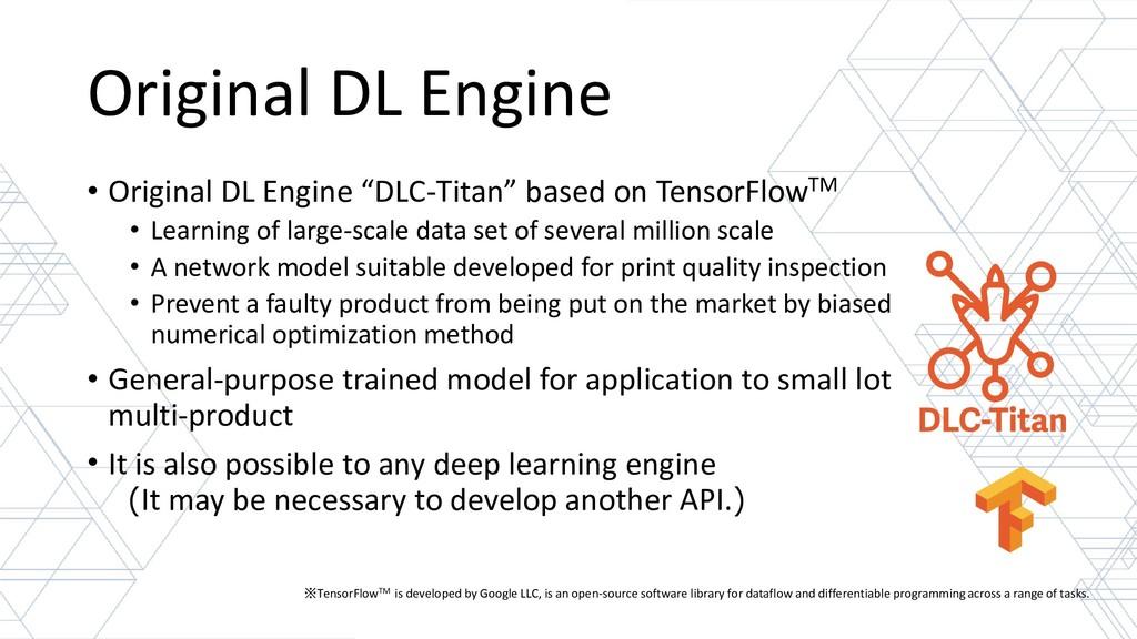 """Original DL Engine • Original DL Engine """"DLC-Ti..."""