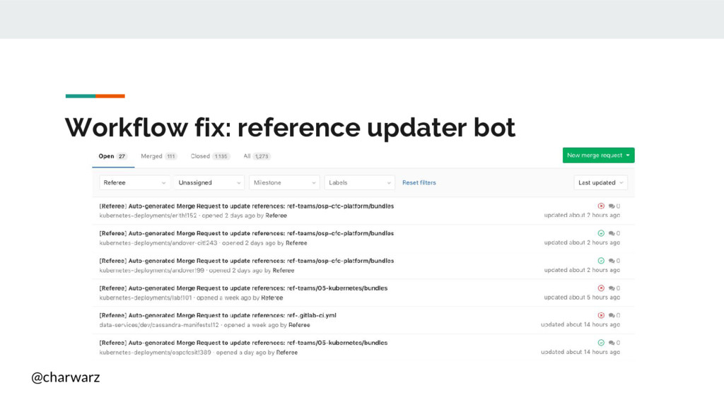 @charwarz Workflow fix: reference updater bot