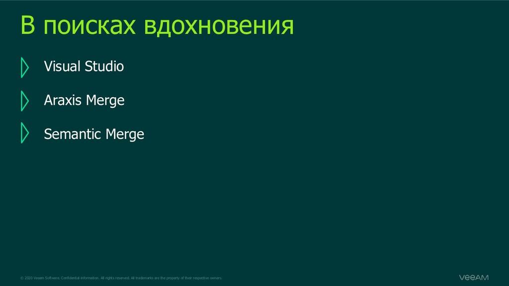 © 2020 Veeam Software. Confidential information...