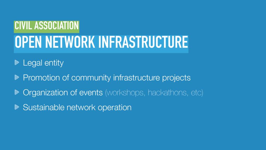 OPEN NETWORK INFRASTRUCTURE CIVIL ASSOCIATION L...