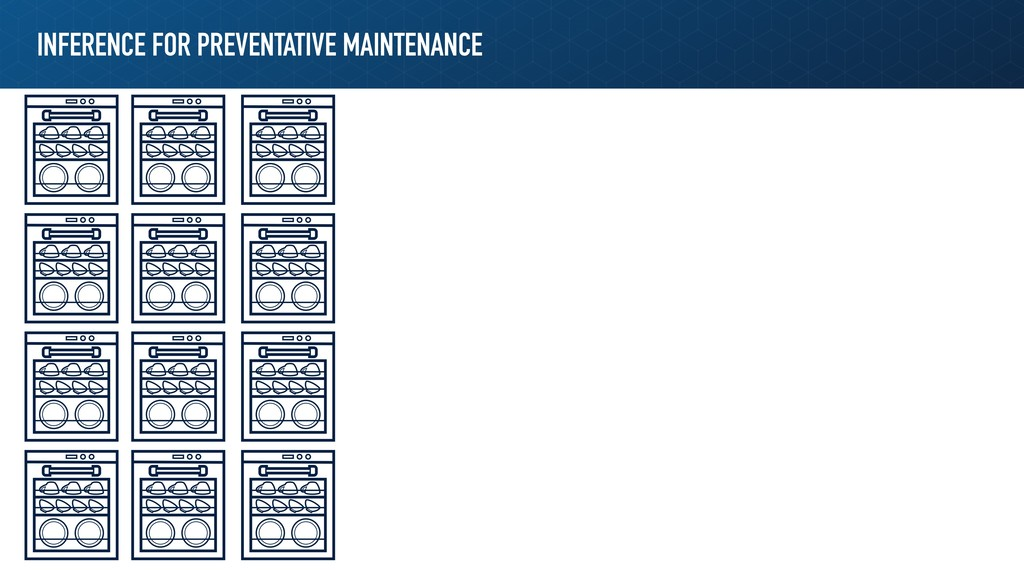 INFERENCE FOR PREVENTATIVE MAINTENANCE
