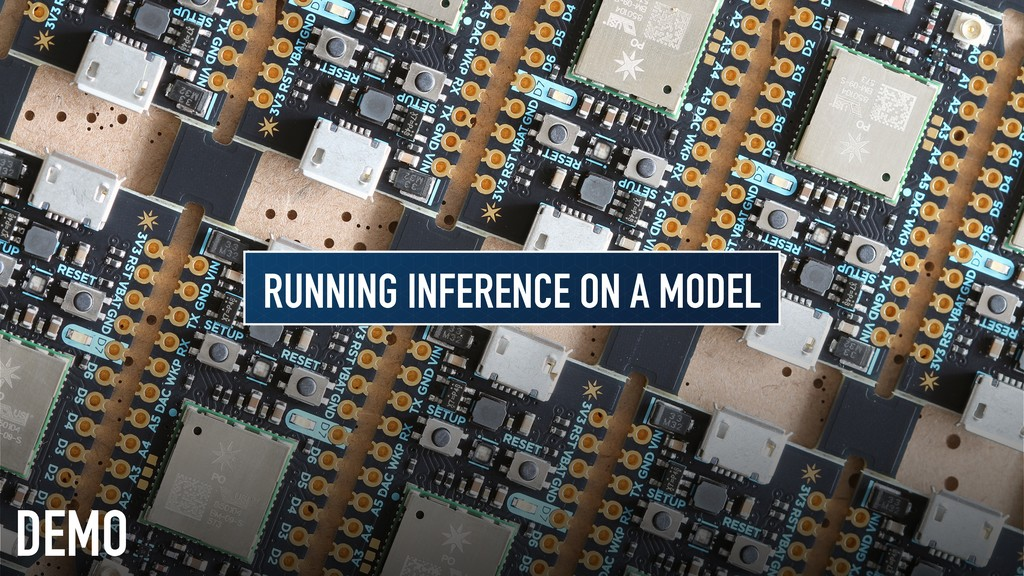 DEMO RUNNING INFERENCE ON A MODEL