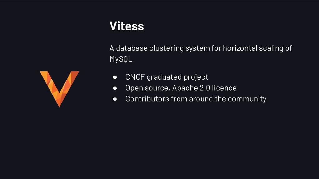 Vitess A database clustering system for horizon...