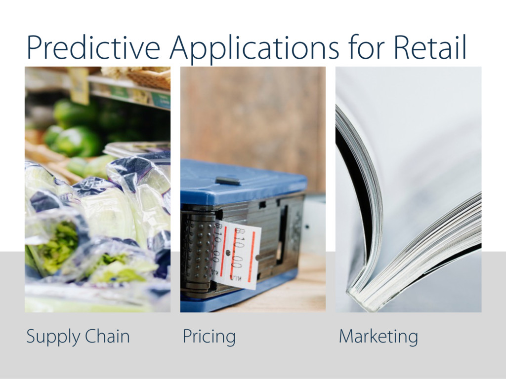 Supply Chain Pricing Marketing Predictive Appli...