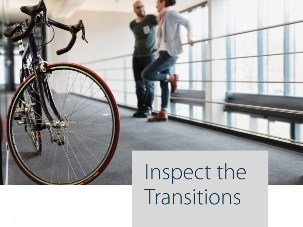 Inspect the Transitions 8