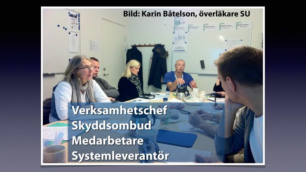 Bild: Karin Båtelson, överläkare SU Verksamhets...
