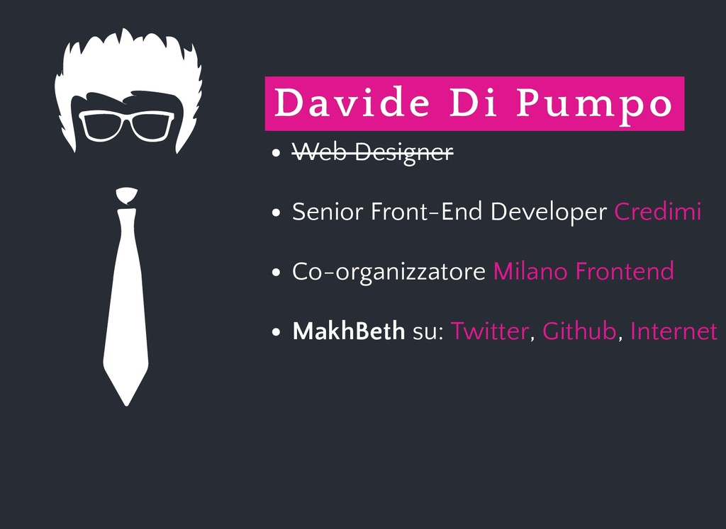 Davide Di Pumpo Davide Di Pumpo Web Designer Se...