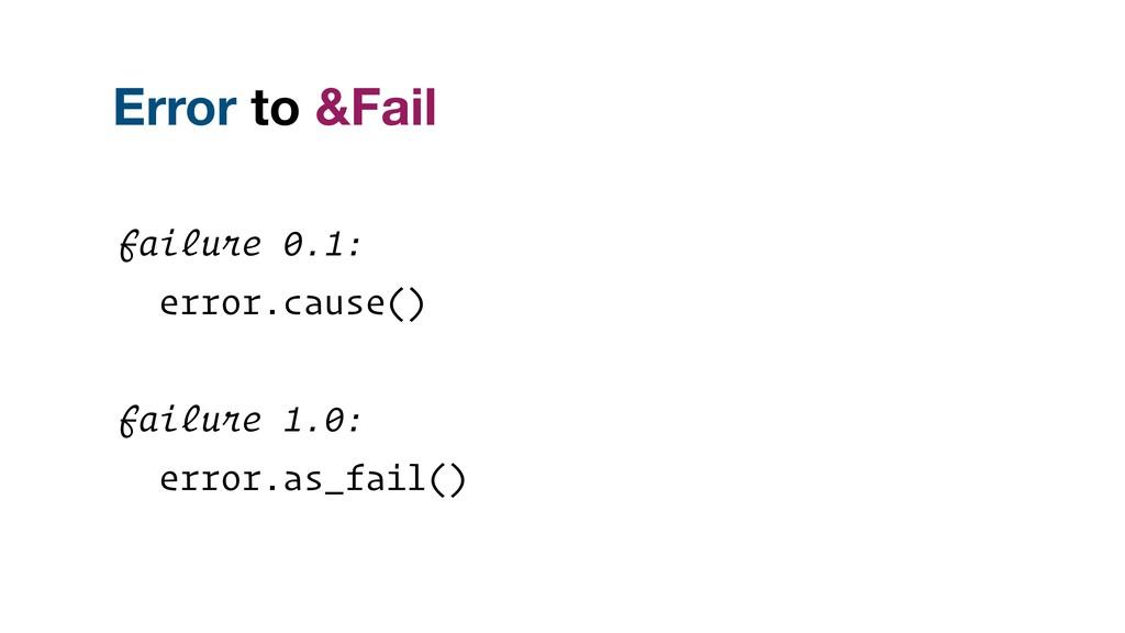failure 0.1: error.cause() failure 1.0: error.a...