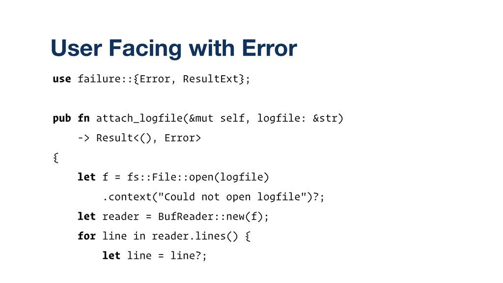 use failure::{Error, ResultExt}; pub fn attach_...