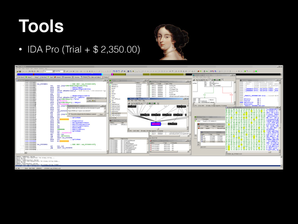 Tools • IDA Pro (Trial + $ 2,350.00)