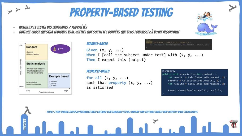 @yot88 Property-based testing • identifier et t...
