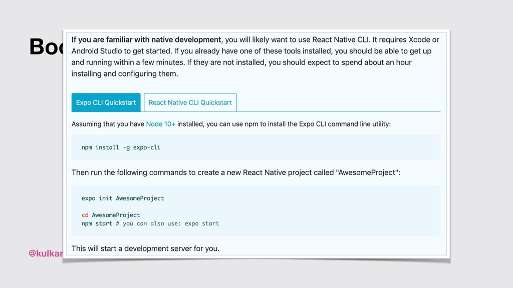 @kulkarniankita9 Bootstrap your project