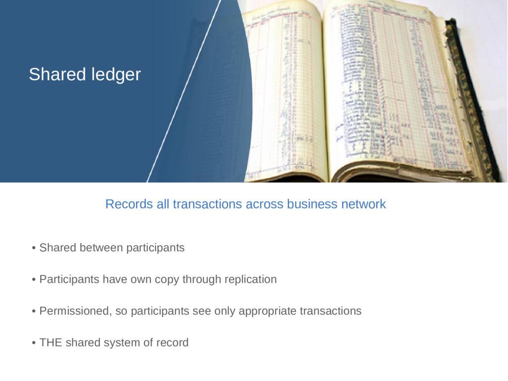 • Shared between participants • Participants ha...