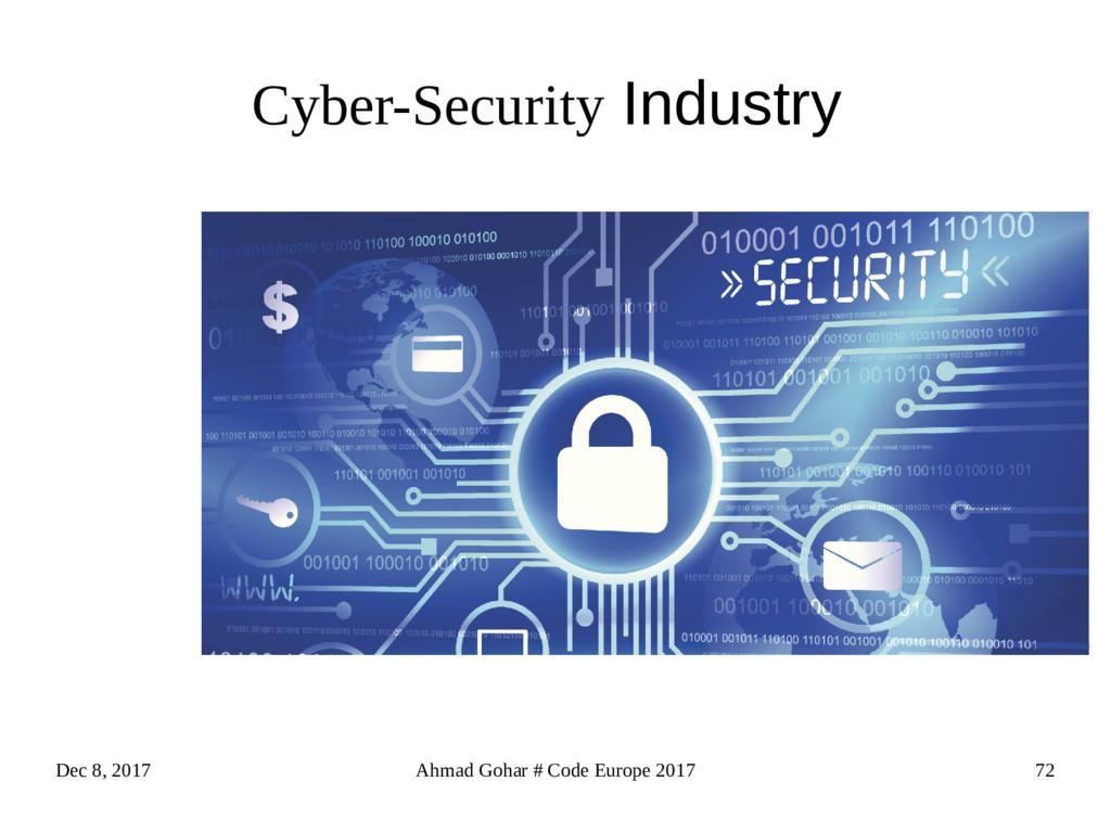 Dec 8, 2017 Ahmad Gohar # Code Europe 2017 72 C...