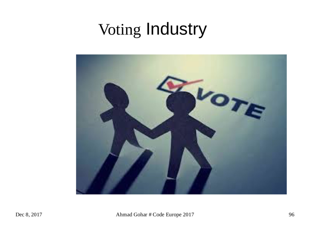 Dec 8, 2017 Ahmad Gohar # Code Europe 2017 96 V...