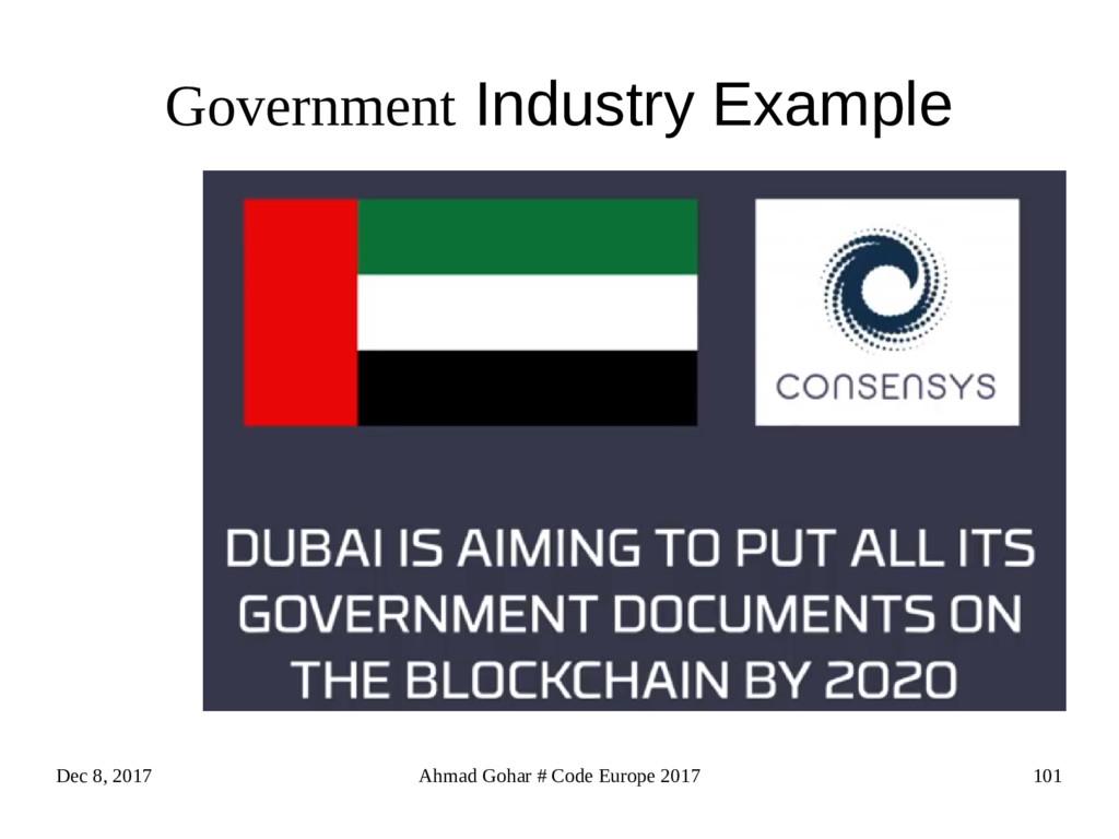 Dec 8, 2017 Ahmad Gohar # Code Europe 2017 101 ...