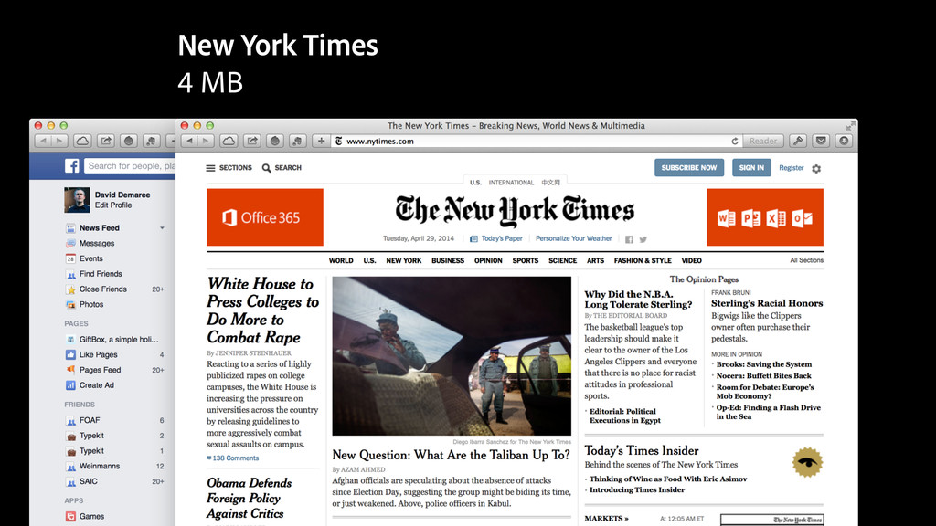 New York Times 4 MB