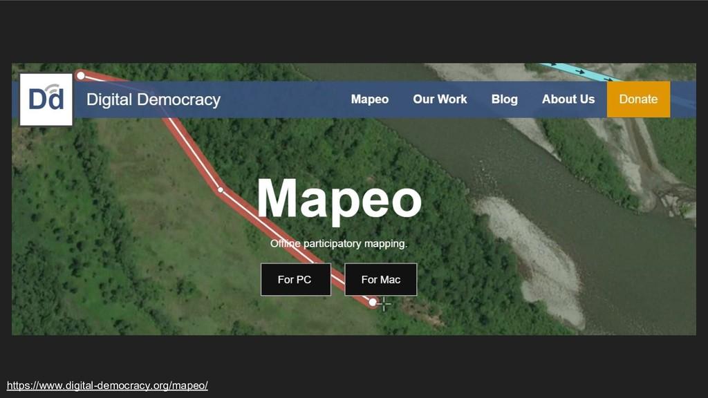 https://www.digital-democracy.org/mapeo/