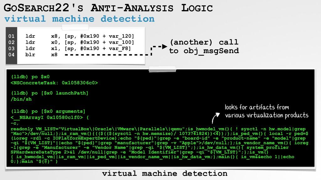 GOSEARCH22'S ANTI-ANALYSIS LOGIC virtual machin...