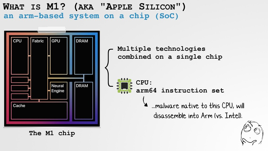 """WHAT IS M1? (AKA """"APPLE SILICON"""") an arm-based ..."""