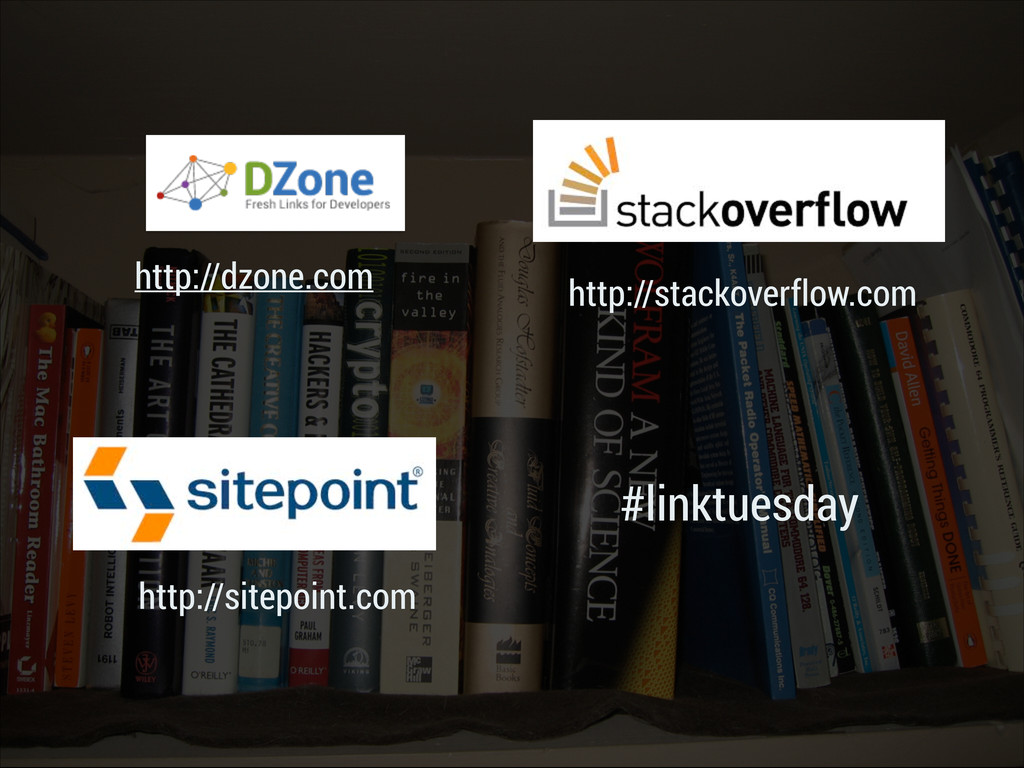 #linktuesday http://sitepoint.com http://stacko...